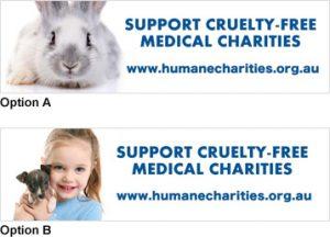 Humane Charities Stickers
